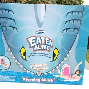 Swimways Eaten Alive Starving Shark Fun Inflatable